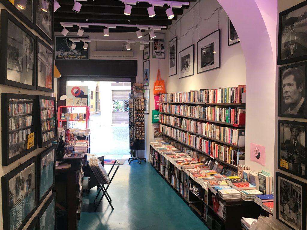 English language bookstore in Rome