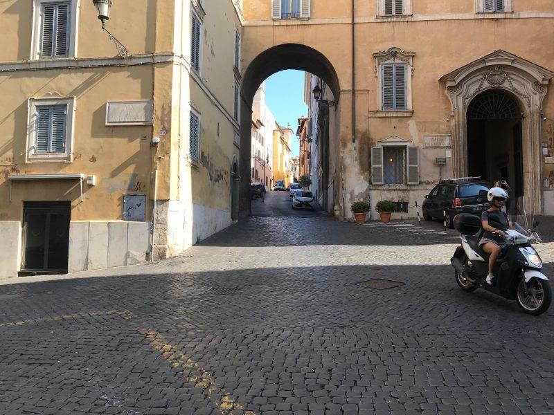 Monti neighborhood in Rome