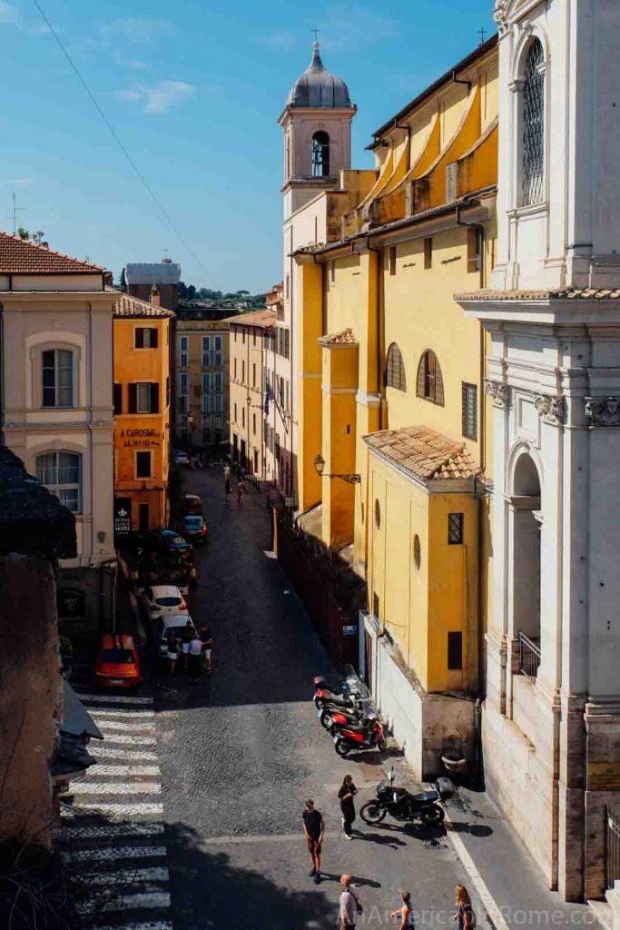 View from Villa Aldobrandini