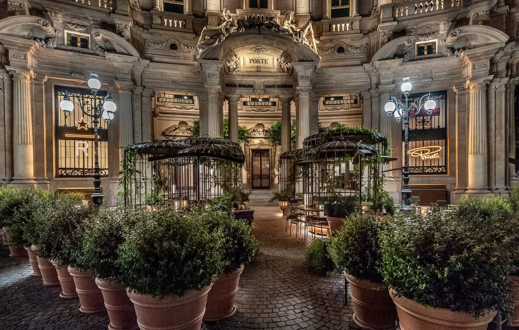 Starbucks in Italy
