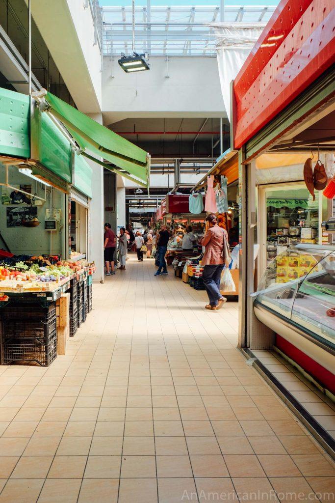 Vatican market Mercato Trionfale