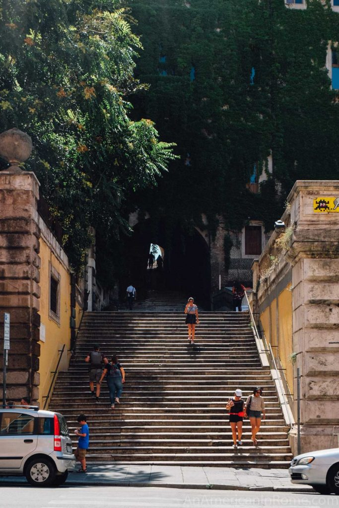 Monti Rome Stairs