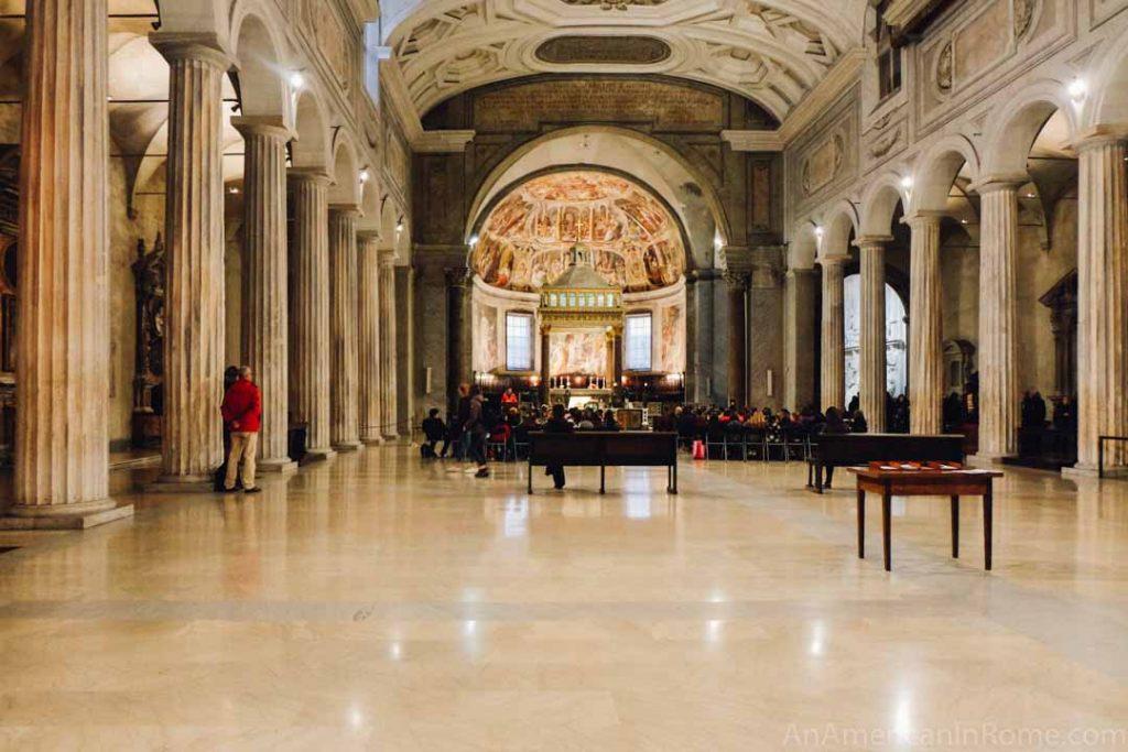 Rome church San Pietro in Vincoli