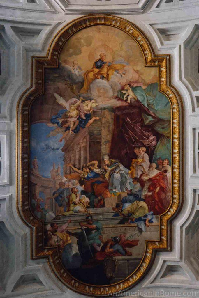 Fresco San Pietro in Vincoli