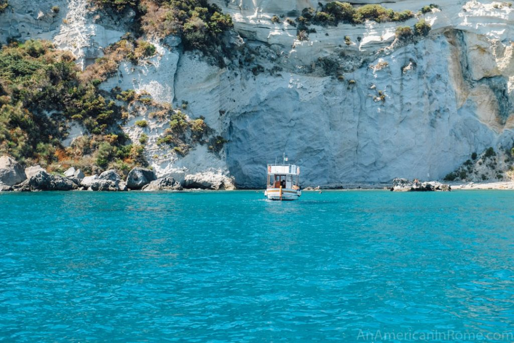 Ponza island near Rome
