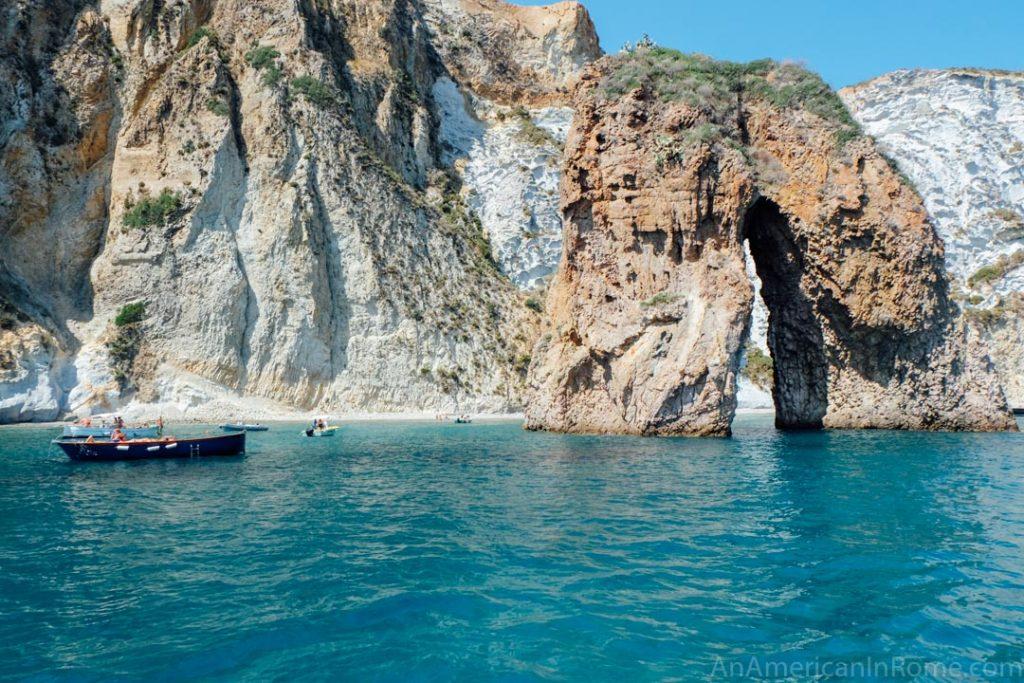 Ponza Island arch
