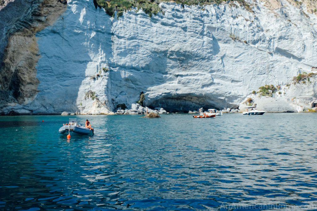 Rome island of Ponza