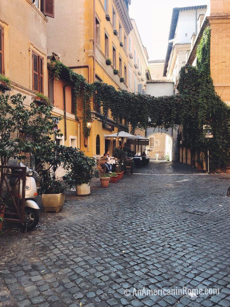 Rome in October