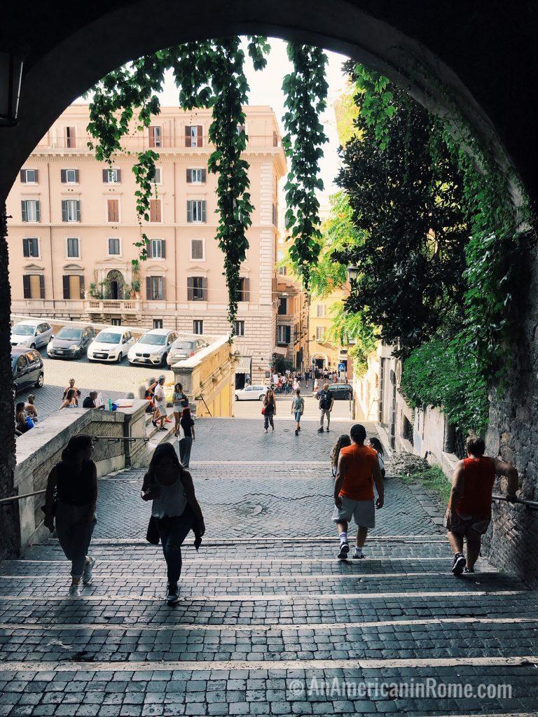 Monti Rome in October