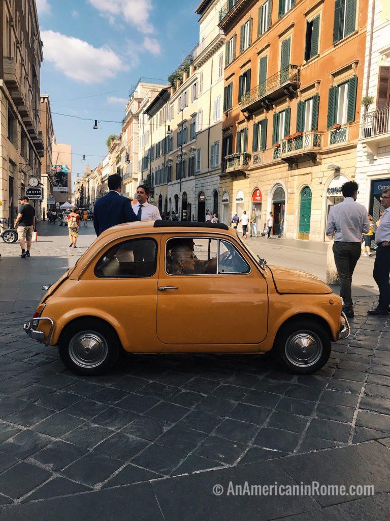 October in Rome