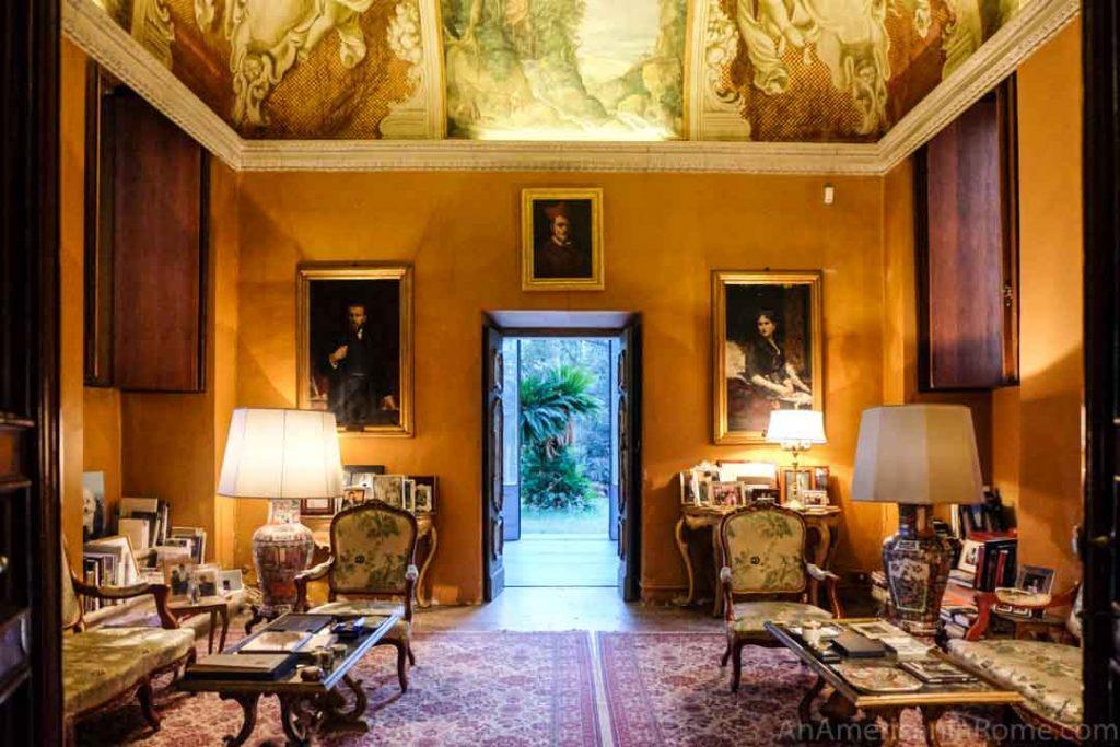 Villa Aurora in Rome