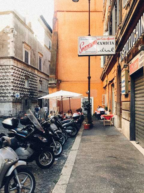 rome italy stroller