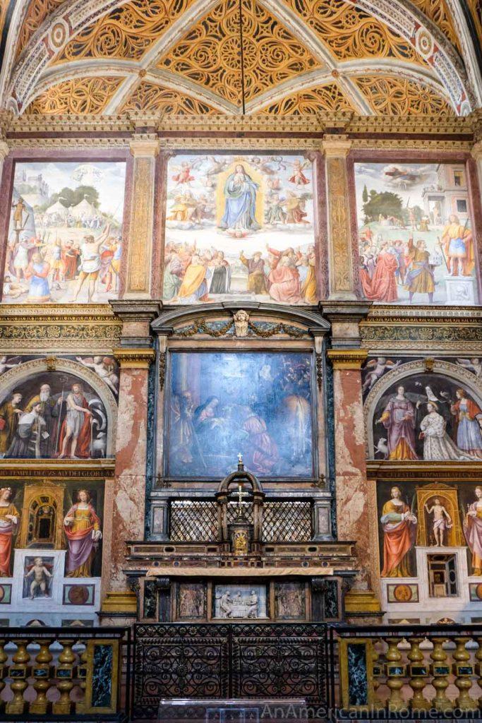 Milan Sistine Chapel in San Maurizio al Monastero Maggiore