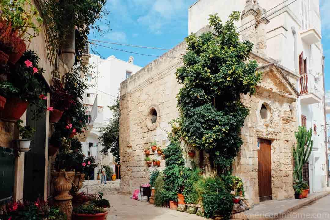 church in Monopoli Puglia