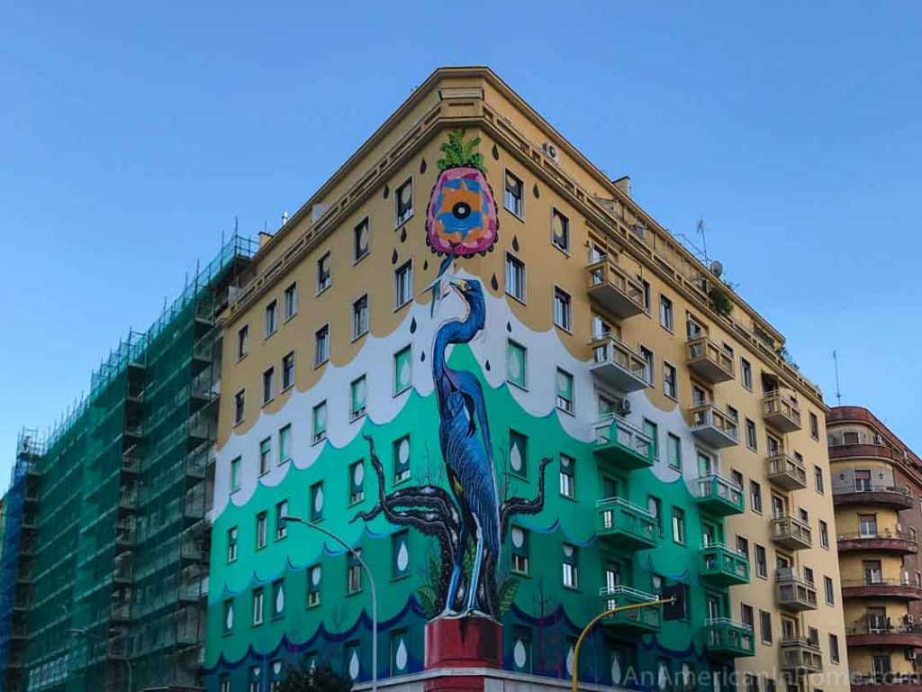 """A Rome Mural that """"Eats"""" Smog: Hunting Pollution"""