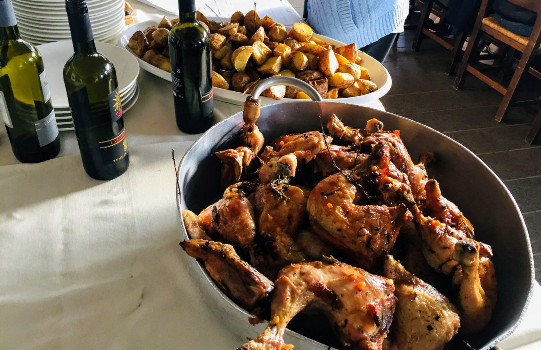 Claudia's Feast: Lunch at Agritourismo Parco dei Cimini near Viterbo