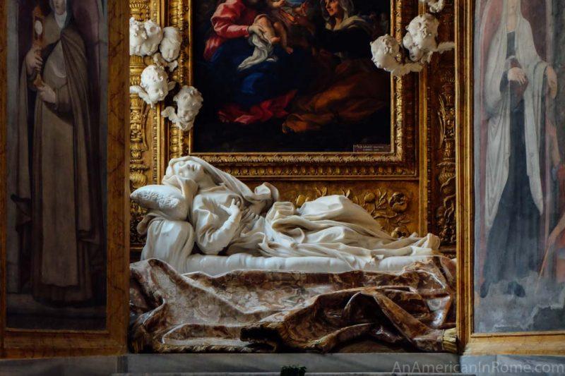 The Church of San Franceso a Ripa in Trastevere (Rome)