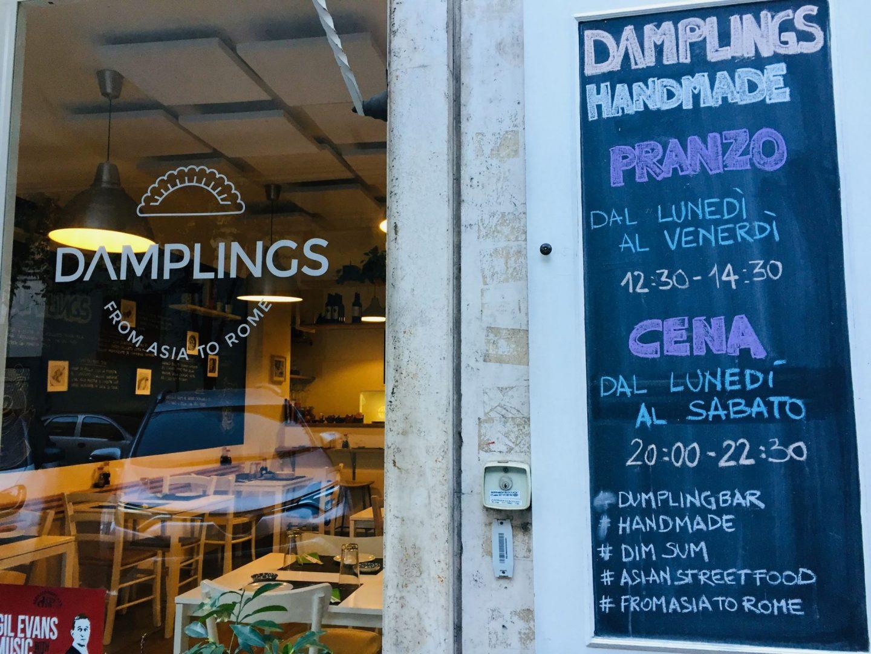 Damplings: Asian Street Food in Rome - An American in Rome