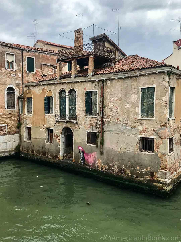 banksy art in Venice