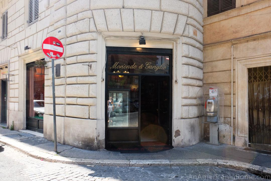 Moriondo e Gariglio doorway