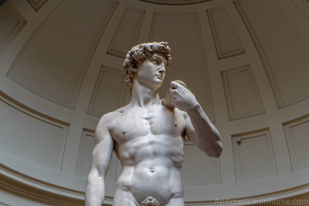 statue of david torso