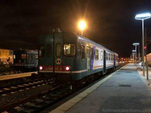 one car train in sicily