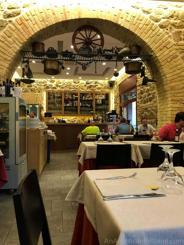 La Tavernaccia Da Bruno In Rome An American In Rome