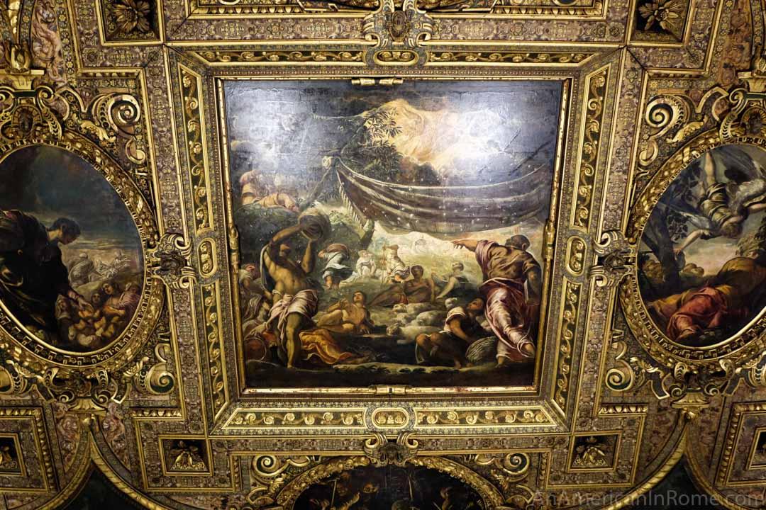 ceiling of Scuola Grande si san Rocco