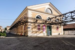 mattatoio exterior of restored slaughterhouse building