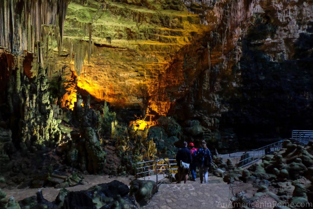 inside the caves of castellana