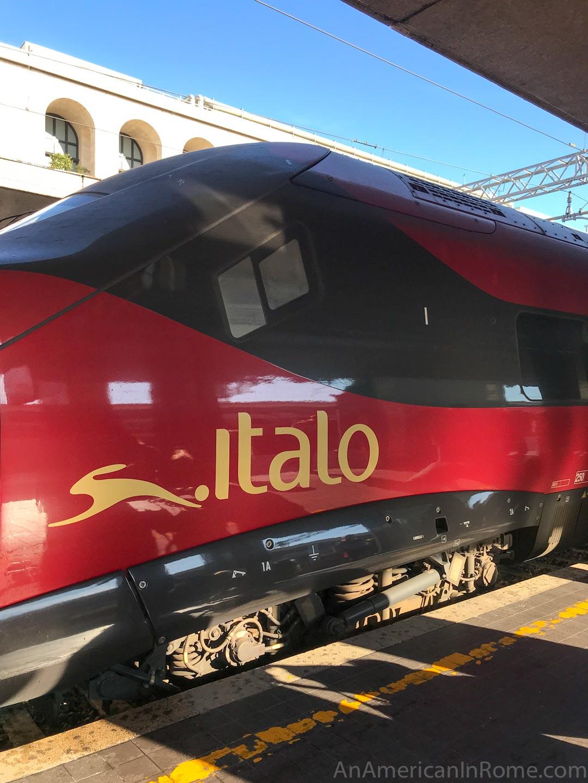 italo treno at Rome Termini